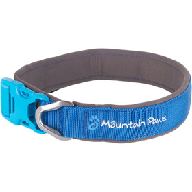 Mountain Paws Hundehalsband XL blau